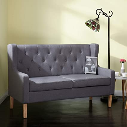 Pleasant Amazon Com Roomance Accent Chair Loveseat 2 Seat Sofa Pdpeps Interior Chair Design Pdpepsorg