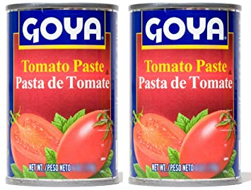 Goya Tomato Paste 18oz | Pasta de Tomate 510g (PACK OF 02)