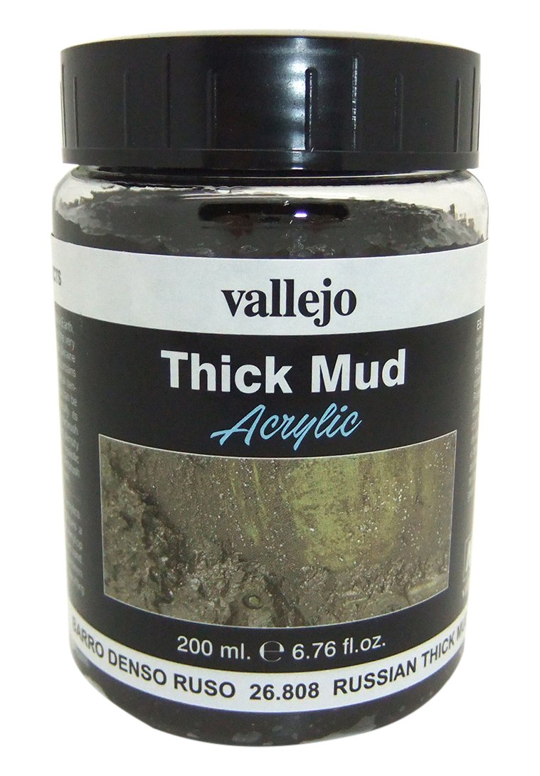 Vallejo Russian Thick Mud Model Paint Kit