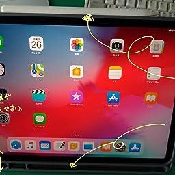 Amazon Wonzir 新しい Ipad Pro 12 9 ケース 18モデル Apple Pencil 収納可能 Apple Pencil 2代にワイヤレス充電対応 スタンド機能 Ipad Pro 12 9 インチ 18新型 保護カバー 軽量 薄型 シンプル 三つ折タイプ 全面保護型 傷つけ防止 Ipad Pro 12 9手帳型 ケース
