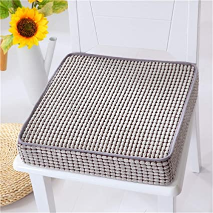 Yoillione Dining Seat Cushions for Kitchen Chairs,Memory Foam Chair Pad  Square Chair Cushion,Think Dining Room Seat Pads Indoor Kitchen Seat  Cushions ...