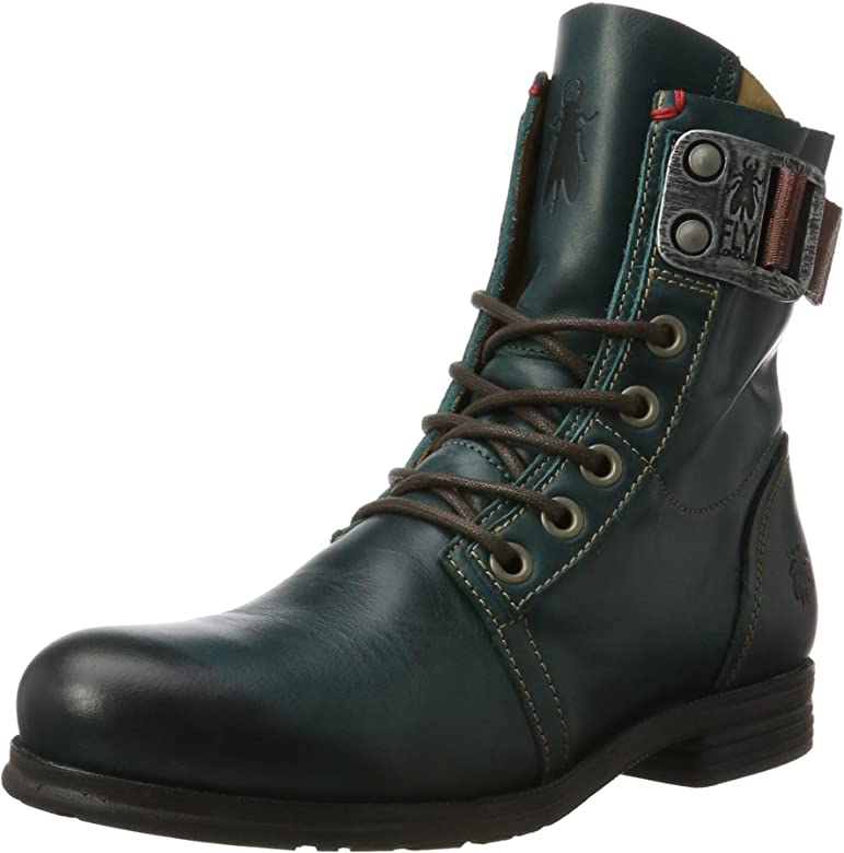 0a8d23e2ccd46 Amazon.com | Fly London Women's Stay Boot, Petrol, 40 EU/9 M US ...