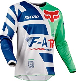 Fox Racing 180 Sayak Mens Off-Road Motorcycle Jerseys Orange//Small