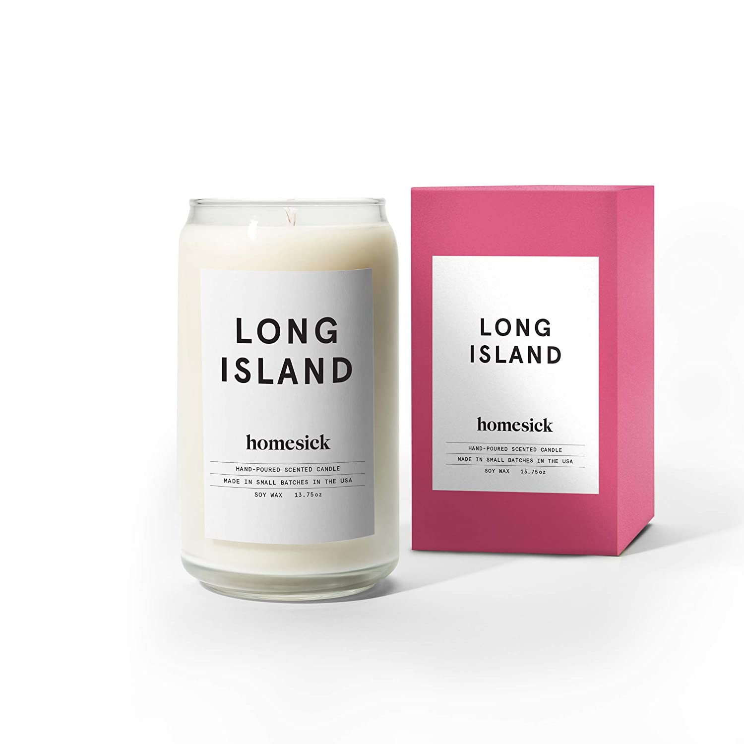 Amazoncom Homesick Scented Candle Long Island Home Kitchen