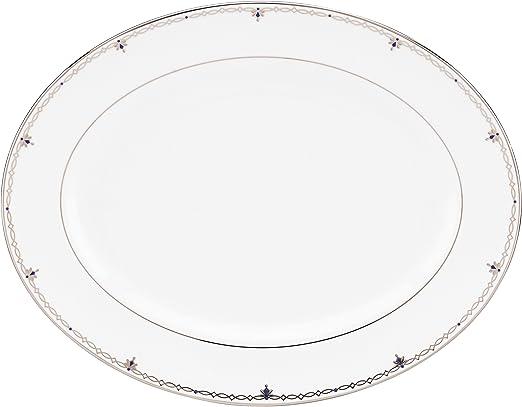 Silver Lenox Sophisticate Oval Platter