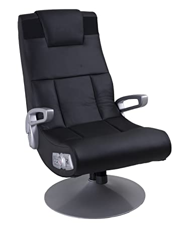 Attirant Ace Bayou Xfunctional Media Furniture X Pedestal Audio Gamer Chair