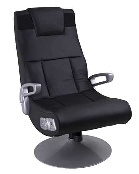 Ace Bayou Xfunctional Media Furniture X Pedestal Audio Gamer Chair