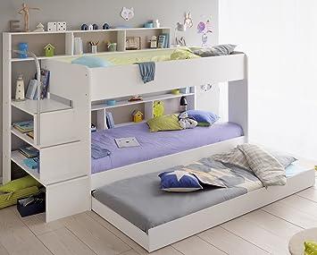 Etagenbett Hochbett Gebraucht : Etagenbett hochbett twin mit bettkasten cm weiß