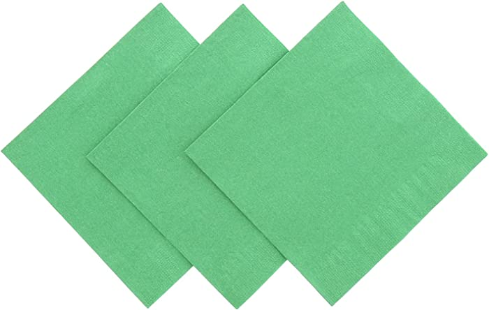 Royal Kelly Green Beverage Napkin, Package of 200