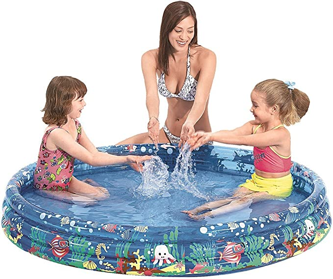 Jilong- Bambi 6926799214845 Piscina 122X25Cm Hinchable Multicolor ...