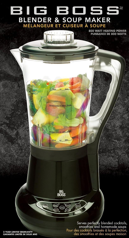 Big Boss 800-watt licuadora y sopa eléctrica: Amazon.es: Hogar