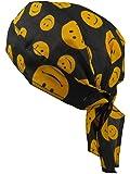 Bandana pañuelo para la cabeza pre atada cara sonriente