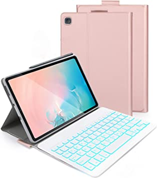 Jelly Comb Funda con teclado retroiluminado para Samsung ...