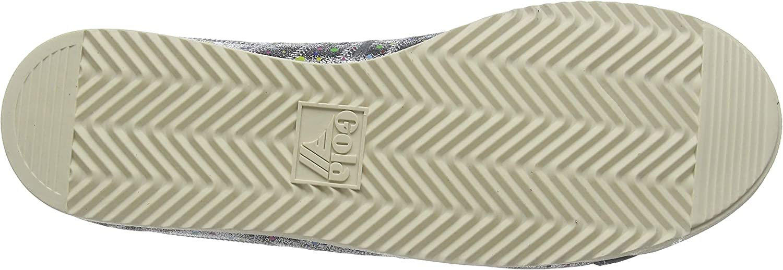 Gola Bullet Shimmer Dot Sneakers voor dames Grey Charcoal Multi Gz