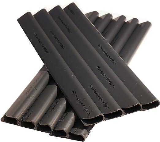 50 regletas de fijación de PVC para tiras de protección visual/viento, para el jardín y las vallas, para vallas de varilla doble, antracita, universal: Amazon.es: Jardín