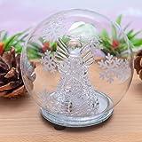 jollylife Christmas Angel Snow Globe Decorations