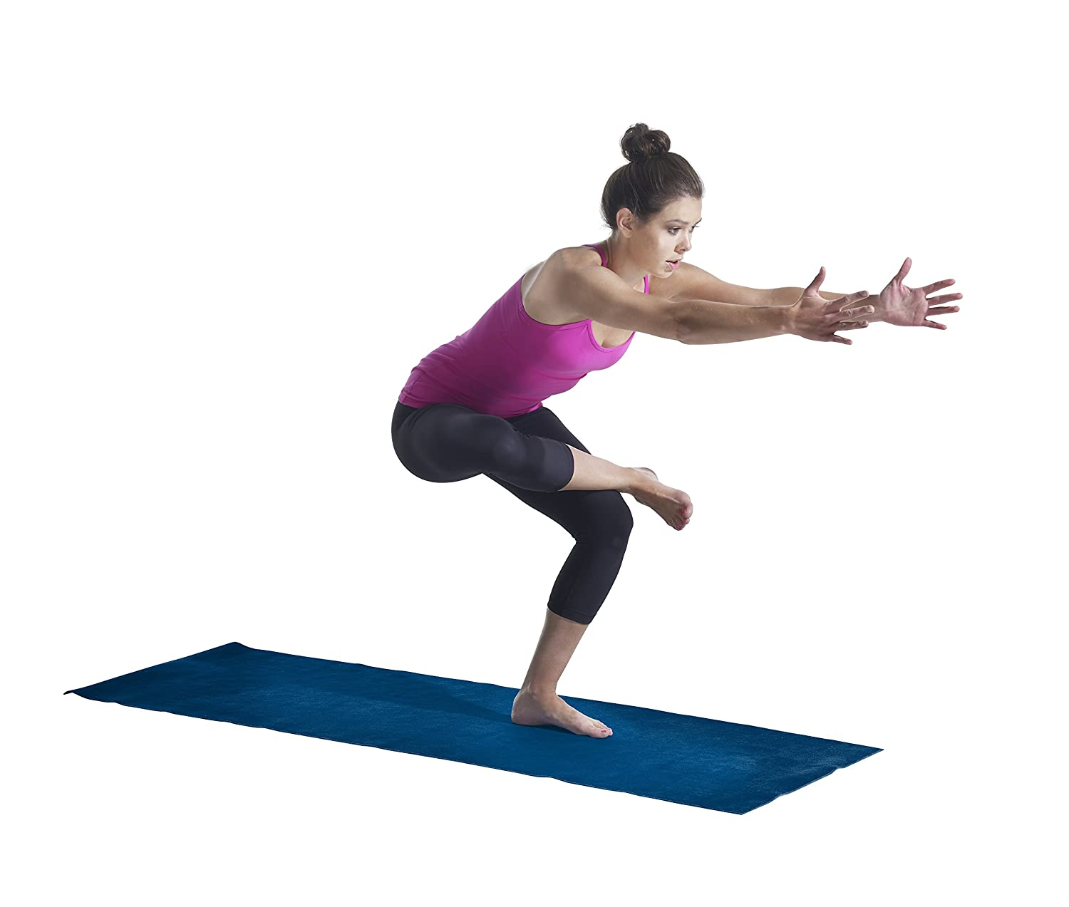 Amazon.com: Lotus caliente Combo de yoga mat: Sports & Outdoors