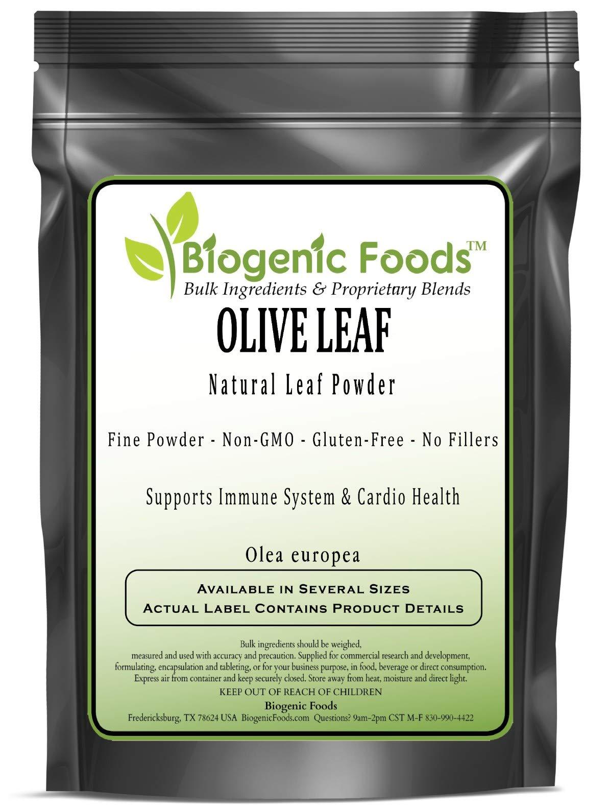 Olive Leaf - Natural Leaf Fine Powder (Olea Europea), 10 kg