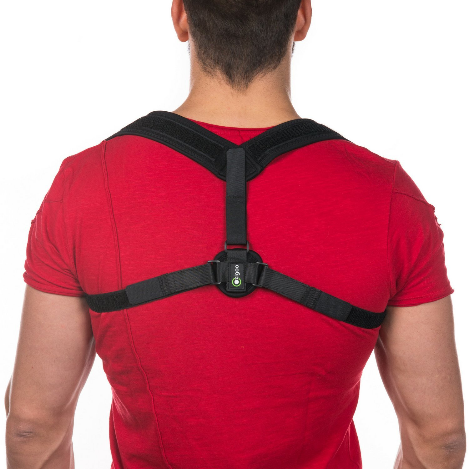 Oxigoo Posture corrector for Women and Men, Clavicle and Shoulder Support Brace, Upper Back Support, Helps with Cervical Neck Pain, Improves Poor Posture, Posture Brace for Back Pain Relief