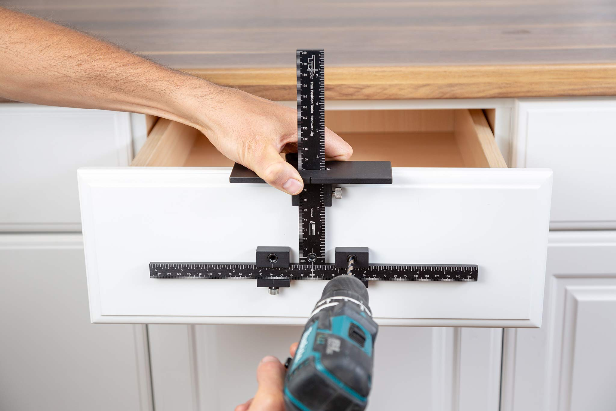 Cabinet Handle Template Jig Tool - Accurate Drawer Knob ...