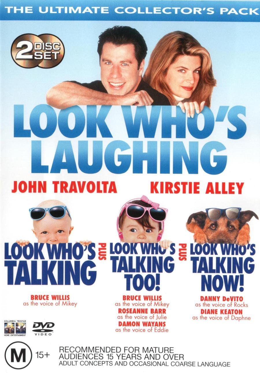 Amazon Com Look Who S Talking Look Who S Talking Too Look Who S Talking Now Dvd Movies Tv