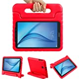 Color Our Life Samsung Galaxy Tab E 9.6 Kiddie Case-Shock Proof Light Weight Convertible Handle Stand Cover for Samsung Galaxy Tab E 9.6 Inch Tablet, Red