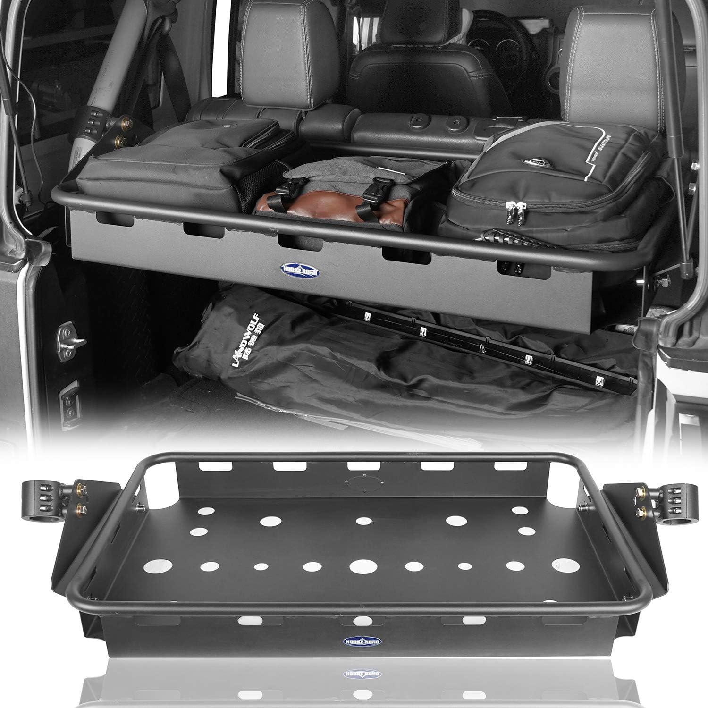 4-Door Interior Cargo Rack for 2007-2018 Jeep JK Wrangler Unlimited