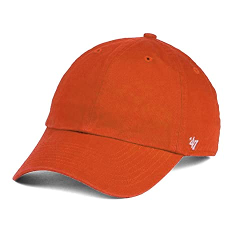 ce7da3ae0f47c Amazon.com   47 Brand Clean Up Blank Dad Hat - Orange