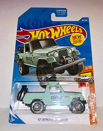 /'67 Jeepster Commando Jeep Green New for 2019 Details about  /Hot Wheels Loose 1:64