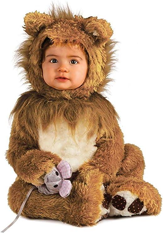 Rubie's Infant Noah Ark Lion Cub Romper, Brown/Beige, 6-12 Months