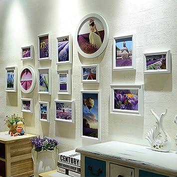 DGF Komposit Massivholz Fotowand mediterranen Stil kleine Wohnzimmer ...
