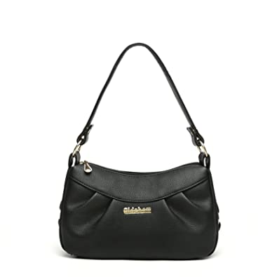 dc38c86dfb Katloo Small Shoulder Bag for Women Vegan Leather Crossbody Purses Top  Handle Handbag Cross Body Casual Black + Nail Clipper  Handbags  Amazon.com