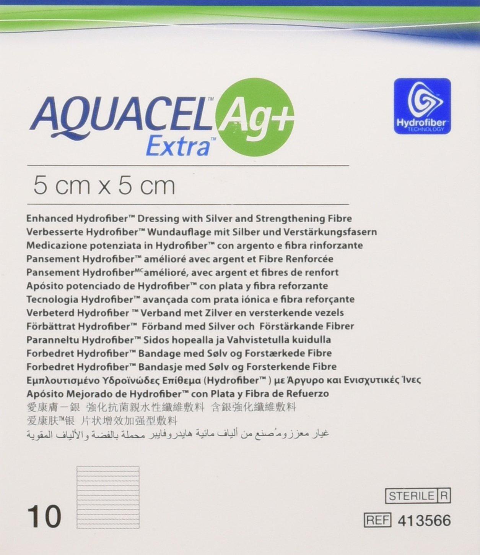 Aquacel Ag Extra Square Wound Dressing Pads 5 X 5 Cm Amazon
