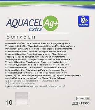 Aquacel Ag Extra Square Wound Dressing Pads 5 X 5 Cm Amazon Co Uk