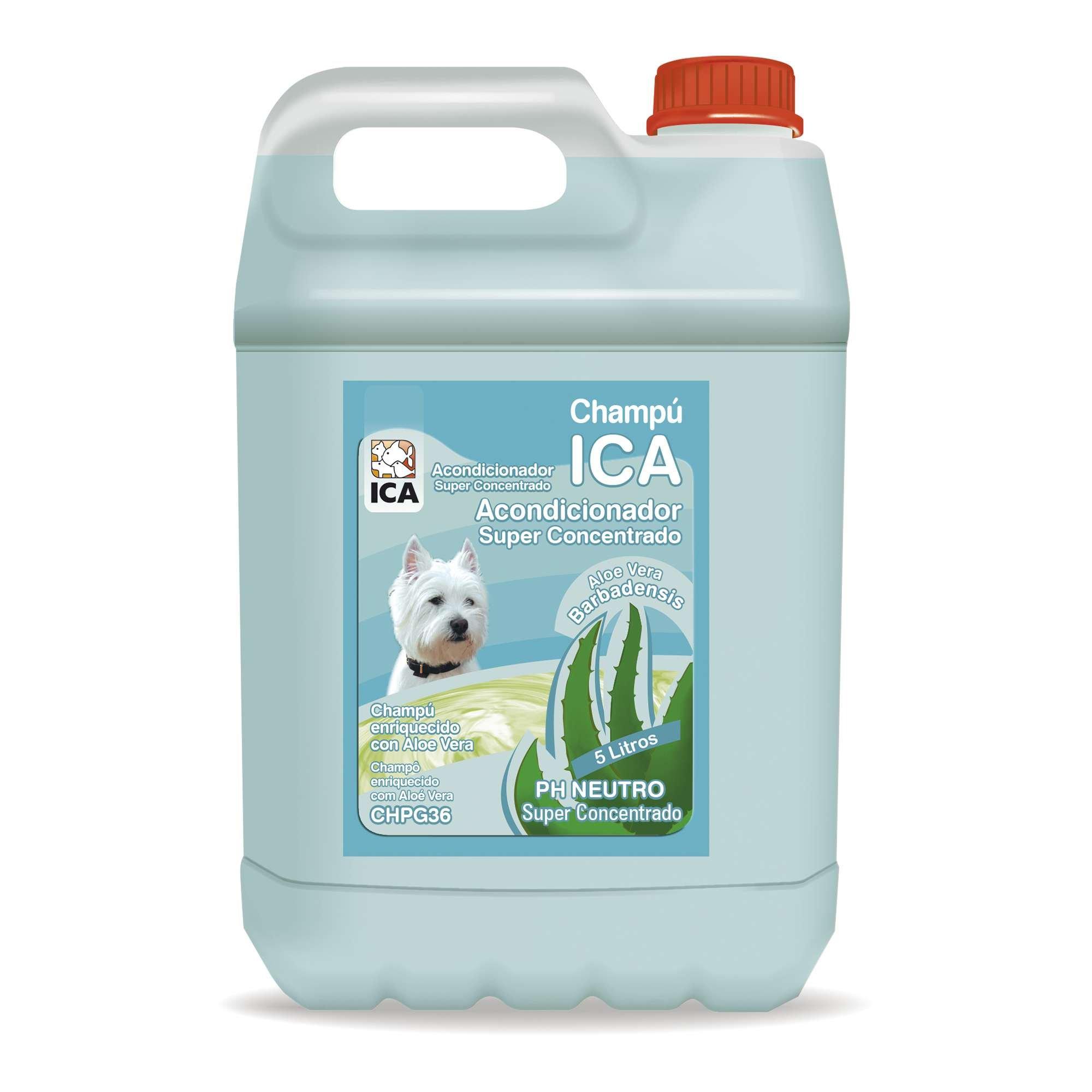ICA chpg36Shampoo Aloe Vera Conditioner for Dogs