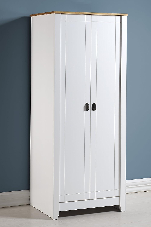 Seconique Ludlow-Armario de 2 Puertas, Color, Blanco y Roble, 2 Door: Amazon.es: Juguetes y juegos
