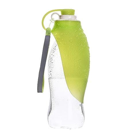 Amazon.com: Ravensy – Botella de agua portátil para perro ...