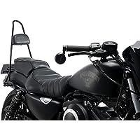Customacces AZ1255N Respaldo Estilo Vintage Negro Harley Davidson