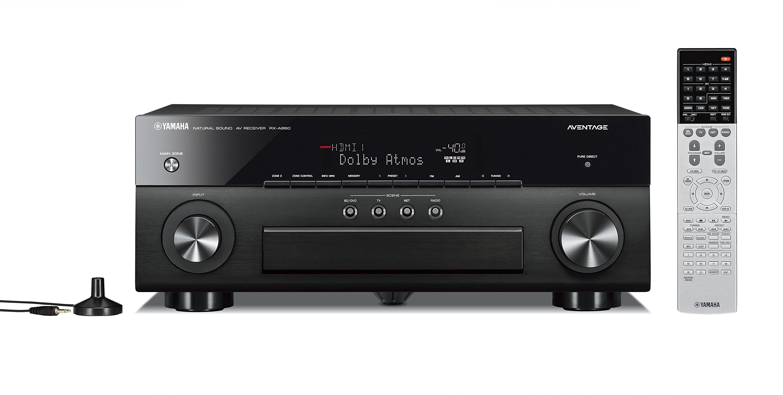 Yamaha RX-A860BL 7.2 Channel Network AV Receiver by Yamaha