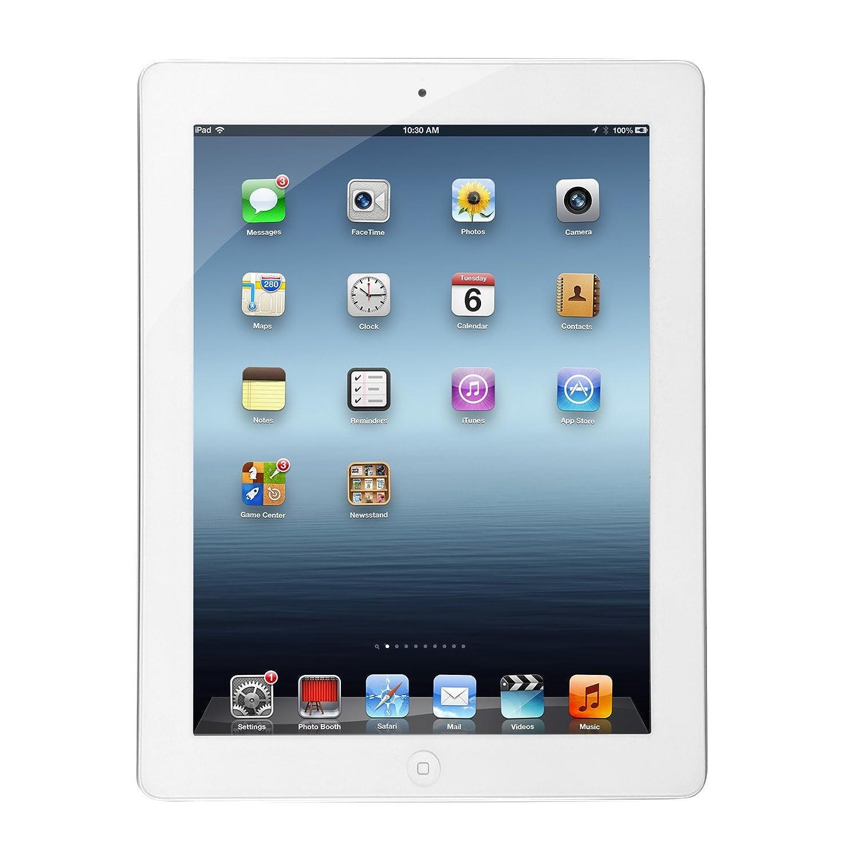Apple iPad with Retina Display (32GB, Wi-Fi, White) 4th Generation (Renewed)