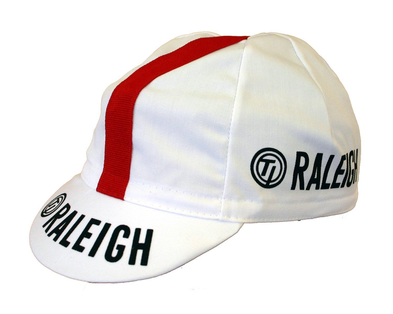 Ciclismo Cap Raleigh gorra de ciclismo retro gorro: Amazon.es ...