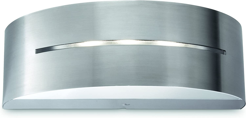 Wandaussenleuchte Buxus Edelstahl Philips myGarden LED Up und Downlight Gartenleuchte