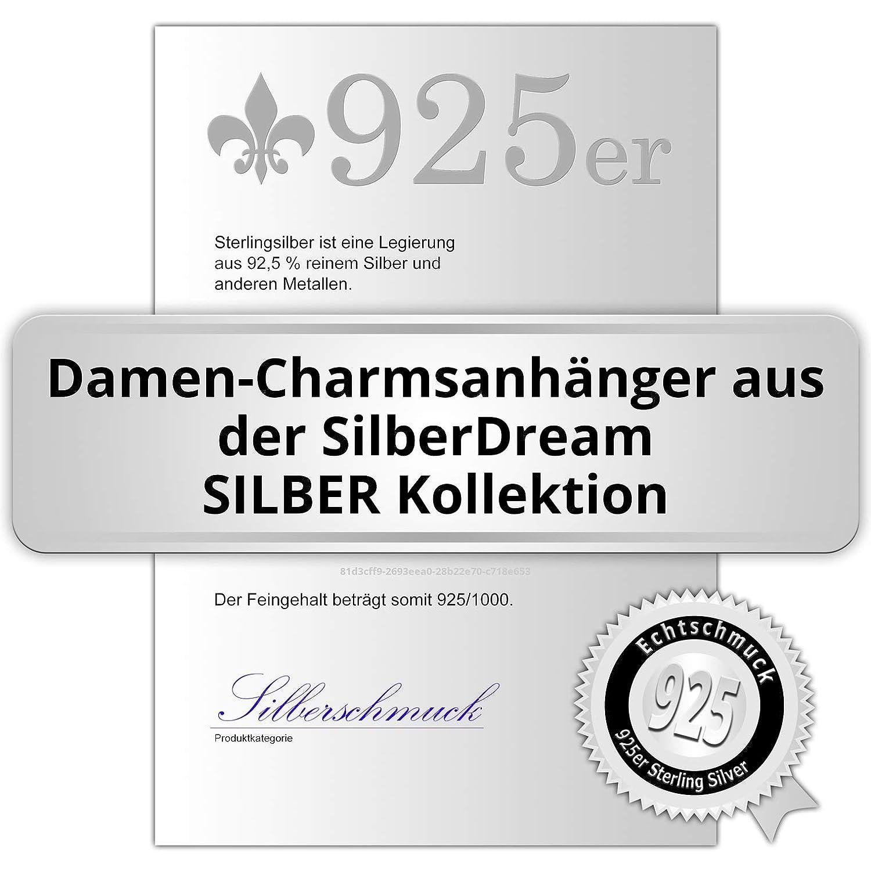 SilberDream FC3112 Charm en argent 925 avec pendentif P/ère No/ël