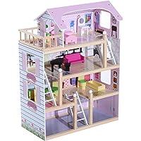 Casa de Muñecas con Muebles Mobiliario Casita Muñeca