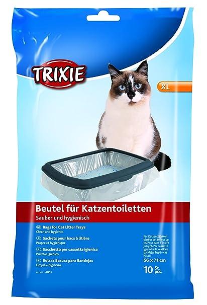 Trixie 10 Bolsas para Band. higiénica Gatos,hasta 56x71cm