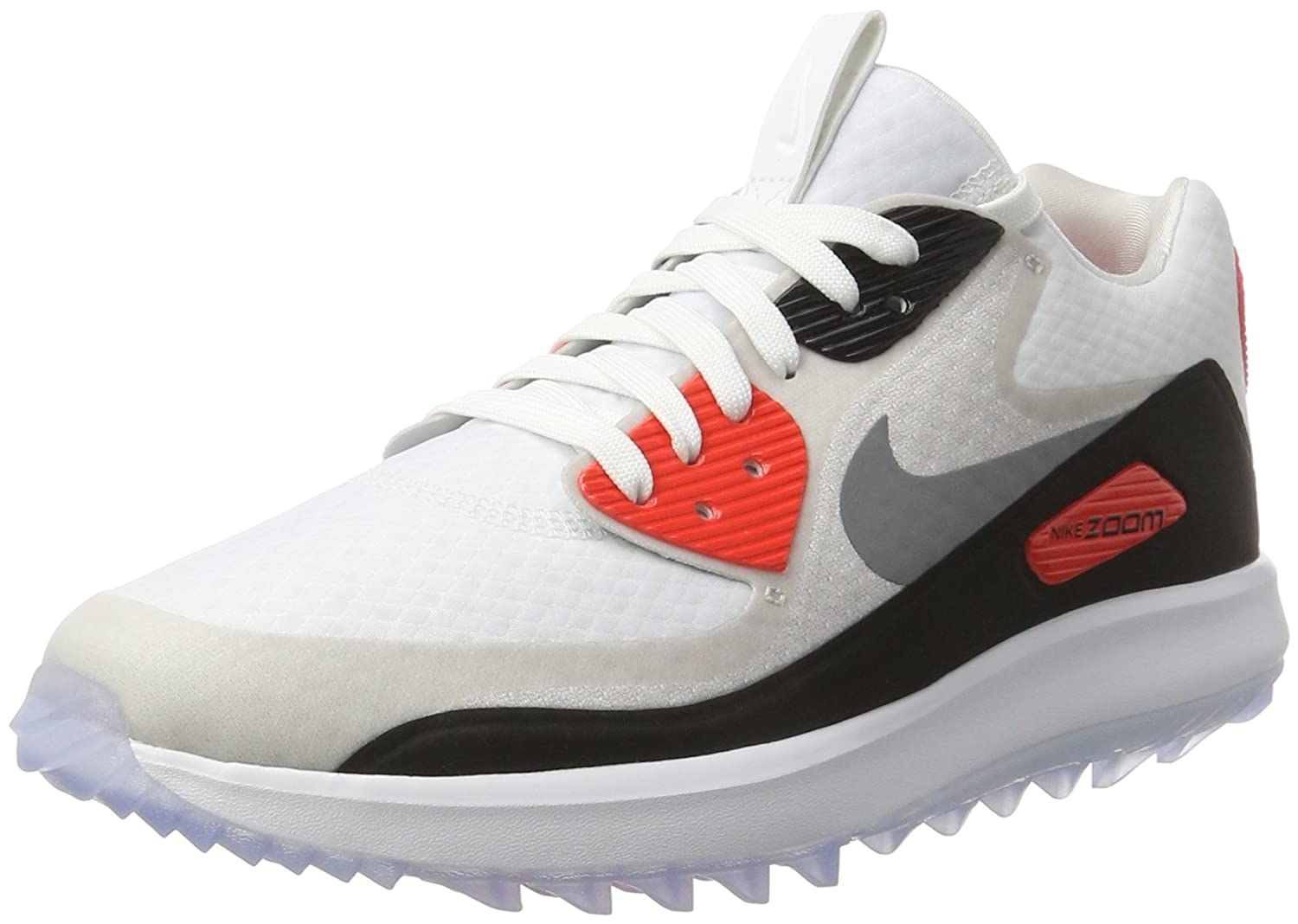 NIKE Air Zoom 90 Spikeless Golf Shoes 2017 Women B01HHCBL2O 8.5 B(M) US|White/Cool Gray/Neutral Gray/Black
