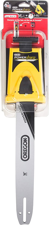 OREGON 542314-16-Inch Powersharp Bar Con Sacapuntas Para 56 Impulsión De Cadena De Acoplamiento