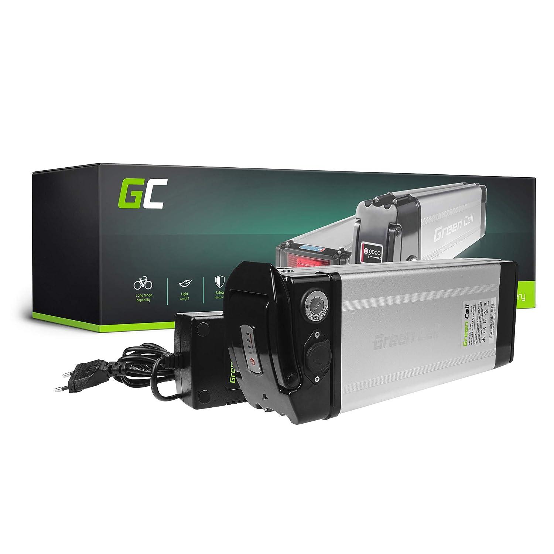 Green Cell EBIKE 24V 14.5Ah Batterie pour Vélos Électriques Silverfish Pedelec avec Chargeur et Cellules Panasonic Li-ION Senglar Oxygen Wee Bad Bike 8FUN Liqfeel Green Cell PRO EBIKE36_FR_128