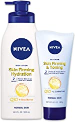 NIVEA Skin Firming Variety Includes Skin Firming Lotion, Shea Butter, 6.7