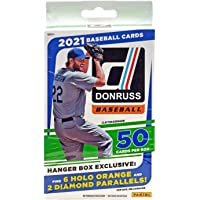 Baseball 2021 Donruss Hanger Box Factory Sealed 50 Cards Per Box photo
